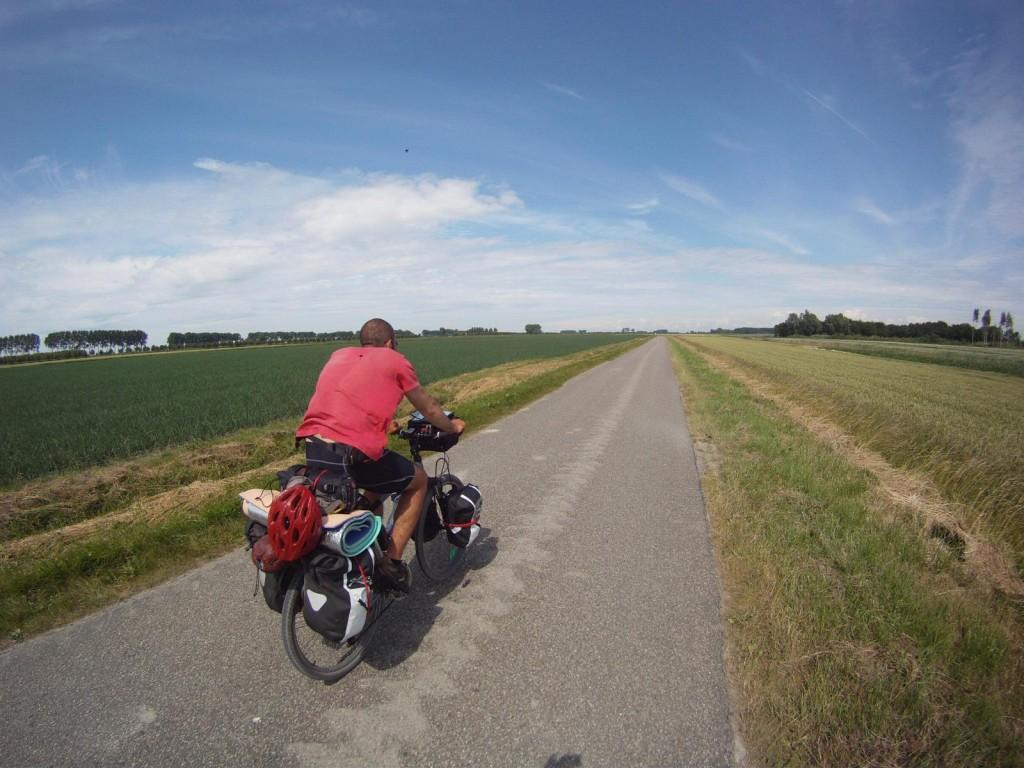 Bisikletli Sahaf Almanya'da.