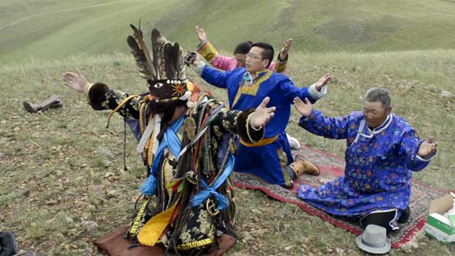 Moğol Şamanları (Kaynak: The Guardian)