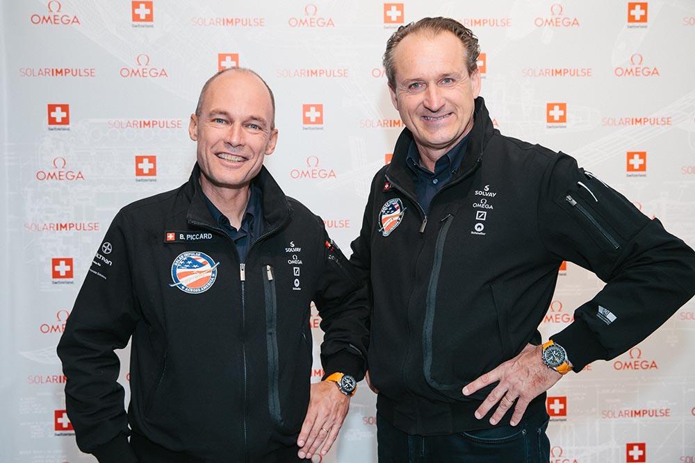 Bertrand Piccard ve Andre Borschberg
