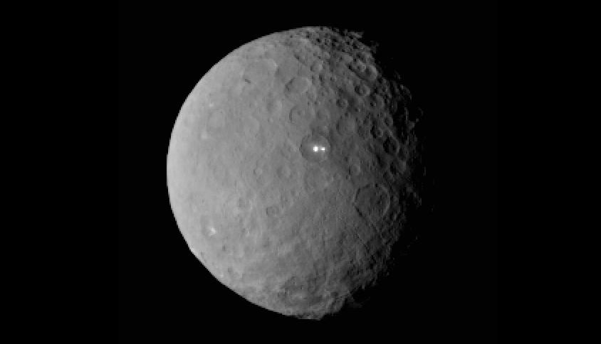 Ceres parlak nokta 1