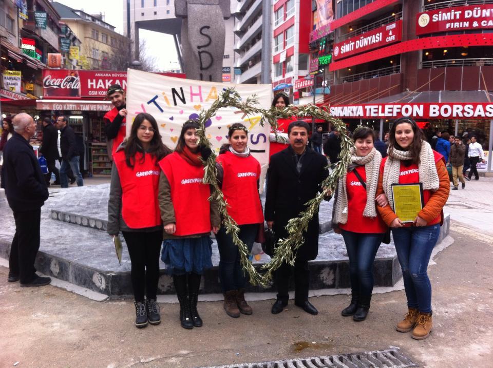 Greenpeace Zeytini Seviyorum 2
