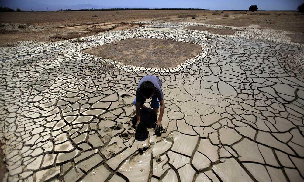 Kaliforniya'da mega kuraklık