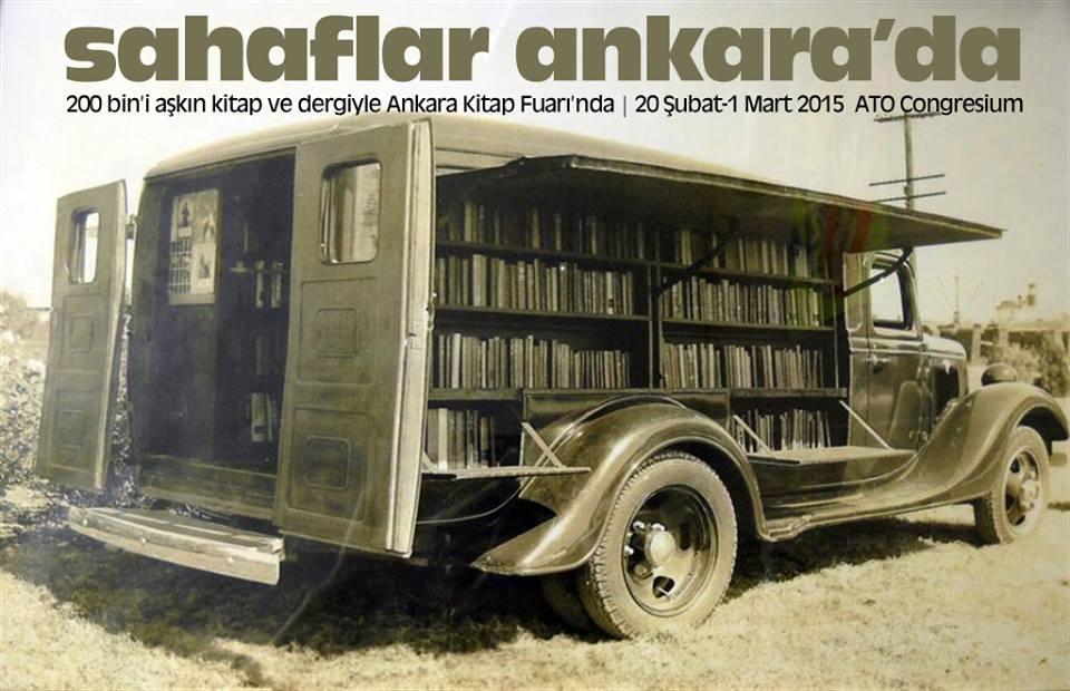Sahafını koru, kitap aşkına! Ankara'da bir kitap şöleni