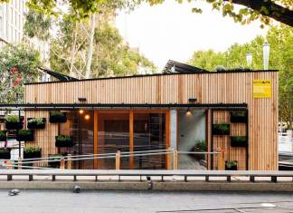 Avustralya'nın ilk karbon pozitif prefabrik evi