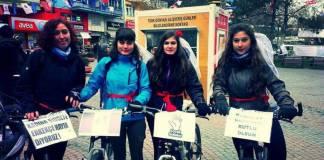 Özgürlüğe pedallayan kadınlar!