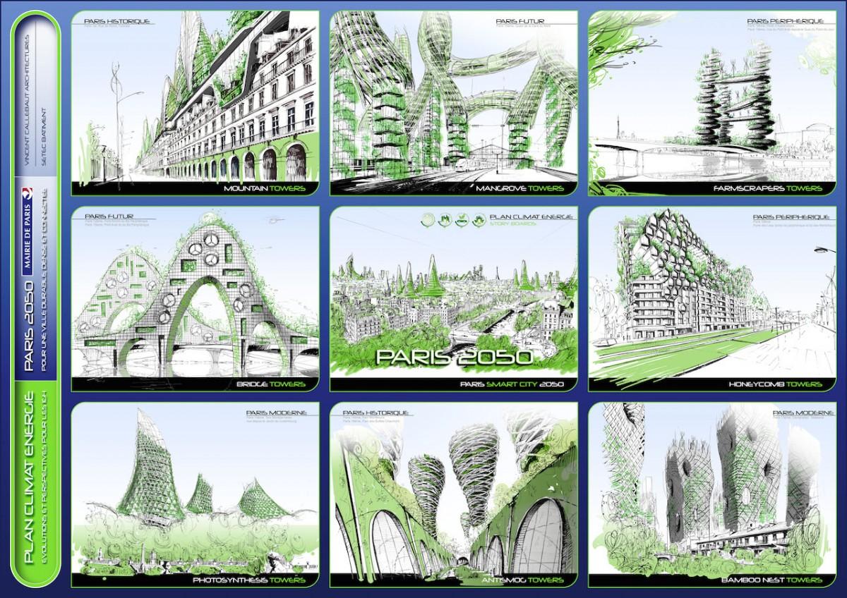 eko mimari, paris, 2050