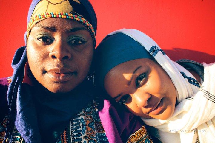 Müslüman kadınlar rap müzik yapıyor