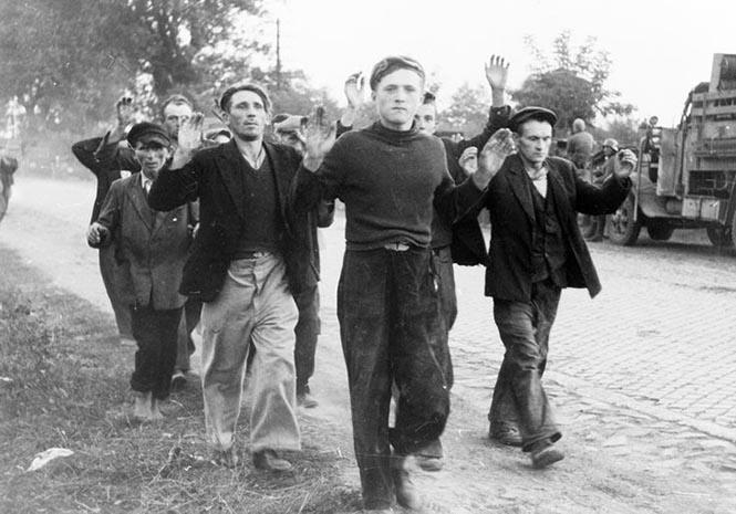 İkinci Dünya Savaşı sırasında Almanya'nın esir aldığı Polonyalı savaş esirleri (Eylül, 1939)
