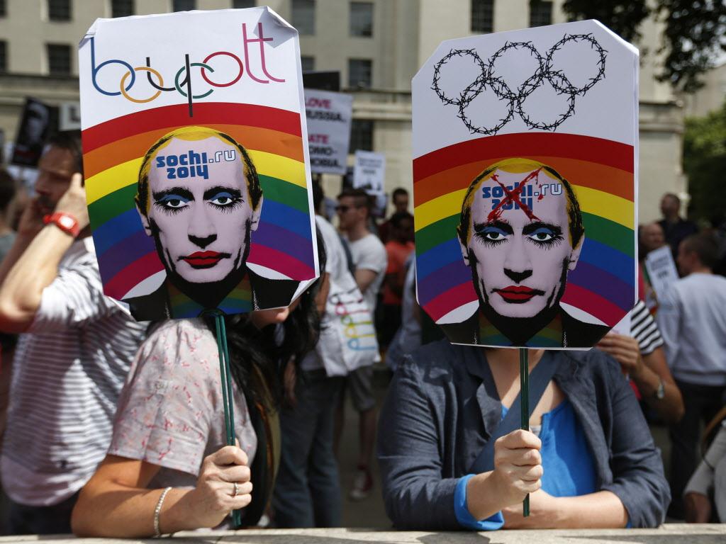 Putin Eşcinsel Eylem