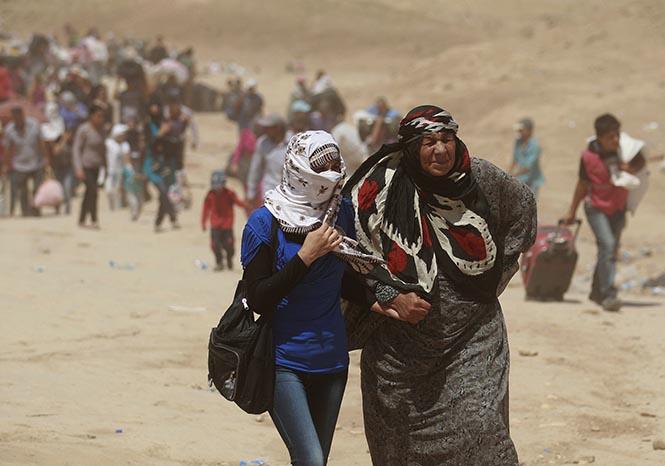 Suriye'de iklim değişikliği savaş