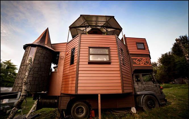 Karavan Yeni Zelanda 1  Bir karavan ancak bu kadar güzel olur Karavan Yeni Zelanda 1