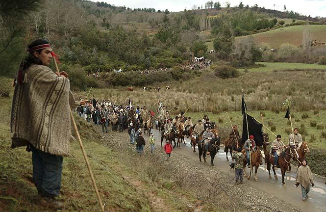 Mapuçe Kadınlarının Yürüyüşü