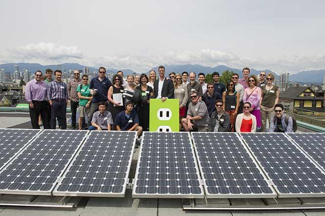 Vancouver güneş paneli