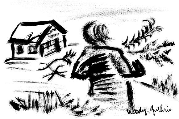 toprak ev, woody Guthrie, kitap, kolektif kitap