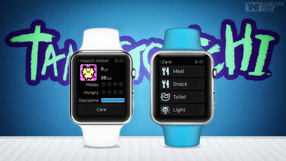 Apple Watch sanal bebek 1