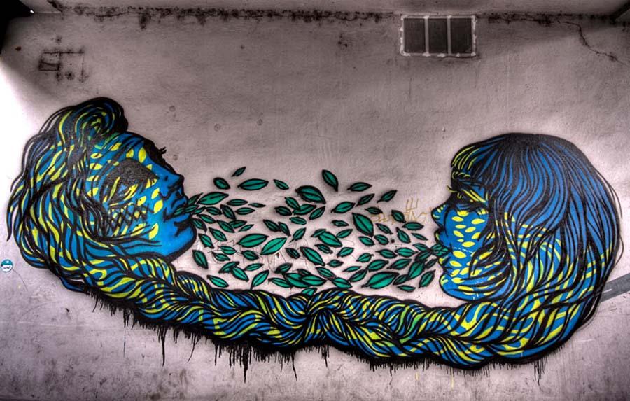 Bastardilla Sokak Sanatçısı 12  Adaletsizlik karşıtı eserleriyle Kolombiya duvarlarını renklendiren kadın: Bastardilla Bastardilla Sokak Sanat C3 A7 C4 B1s C4 B1 12