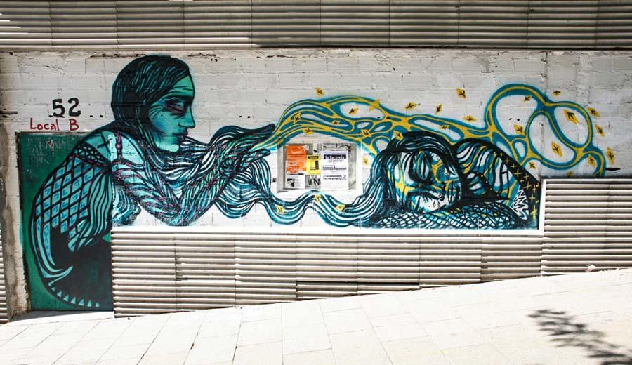 Bastardilla Sokak Sanatçısı 13  Adaletsizlik karşıtı eserleriyle Kolombiya duvarlarını renklendiren kadın: Bastardilla Bastardilla Sokak Sanat C3 A7 C4 B1s C4 B1 13
