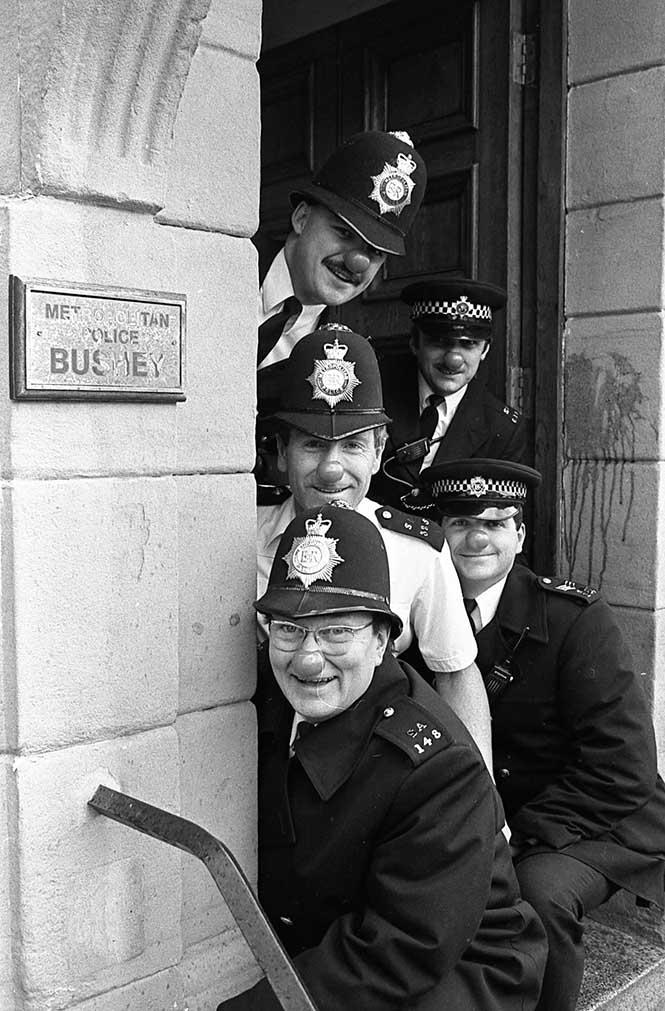 Kırmızı Burun Günü, Watford - İngiltere, 1988