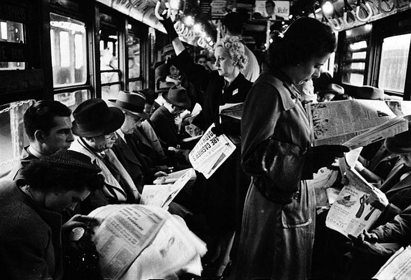 Stanley Kubrick NYC Metro 10  Stanley Kubrick'in objektifinden 1945 yılının New York metrosu Stanley Kubrick NYC Metro 10