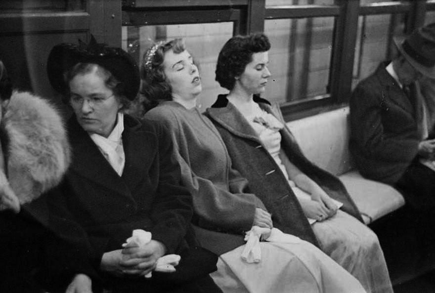 Stanley Kubrick NYC Metro 11  Stanley Kubrick'in objektifinden 1945 yılının New York metrosu Stanley Kubrick NYC Metro 11