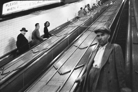Stanley Kubrick NYC Metro 13