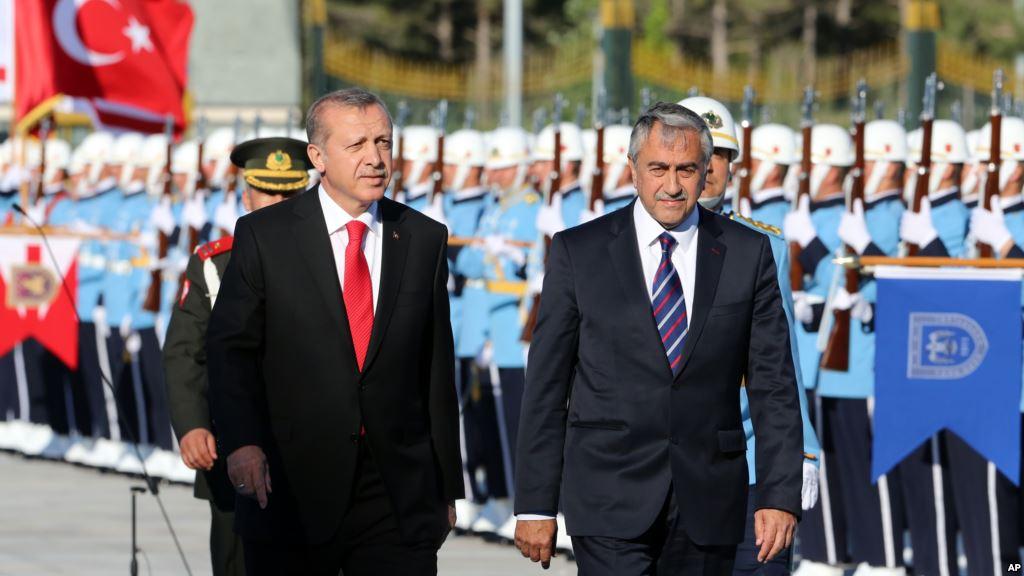 Tayyip Erdoğan Mustafa Akıncı