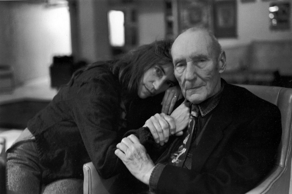 Patti Smith ve William S. Burroughs