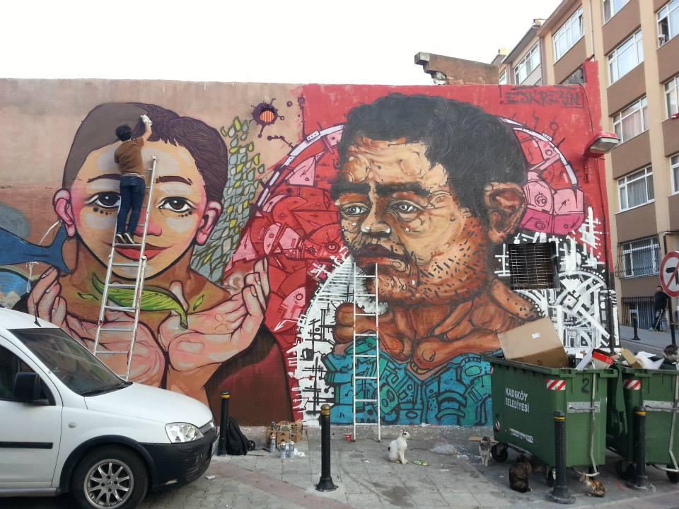 İstanbul Mural Festivali10
