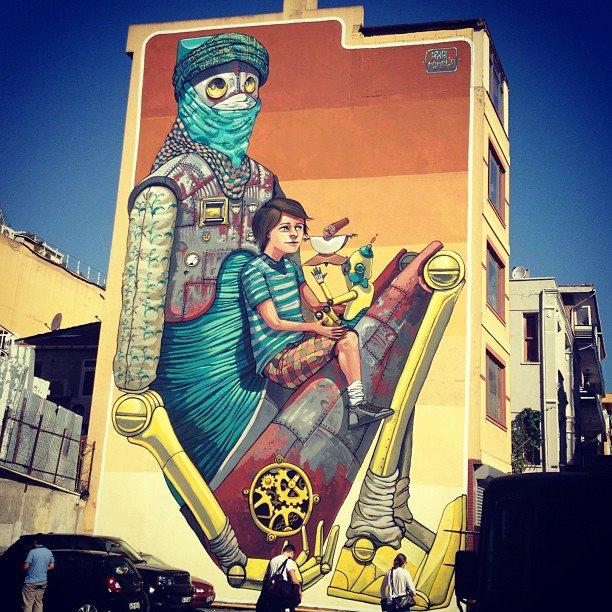 İstanbul Mural Festivali6