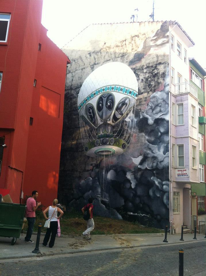 İstanbul Mural Festivali7