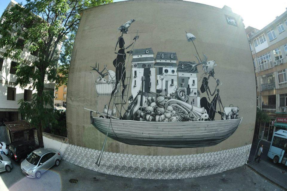 İstanbul Mural Festivali8