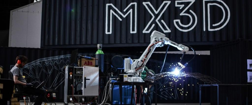 2- Robot MX3D