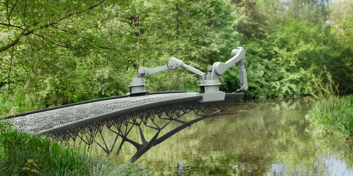 3 boyutlu yazıcılar ve dünyanın ilk 3B basılan köprüsü