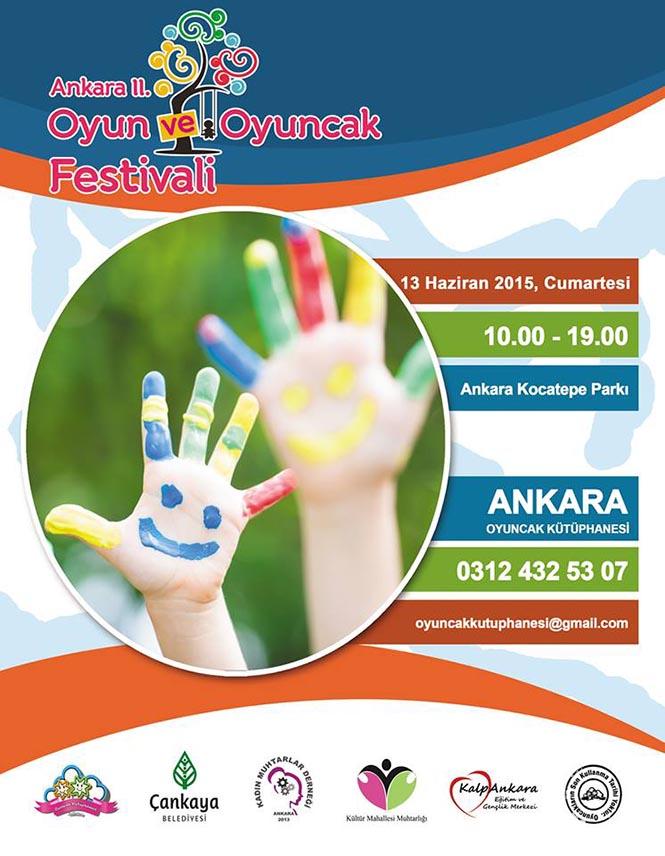 Ankara II. Oyun ve Oyuncak Festivali