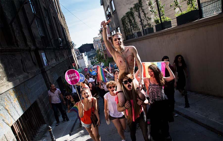 Antonin Weber İstanbul Pride 2015