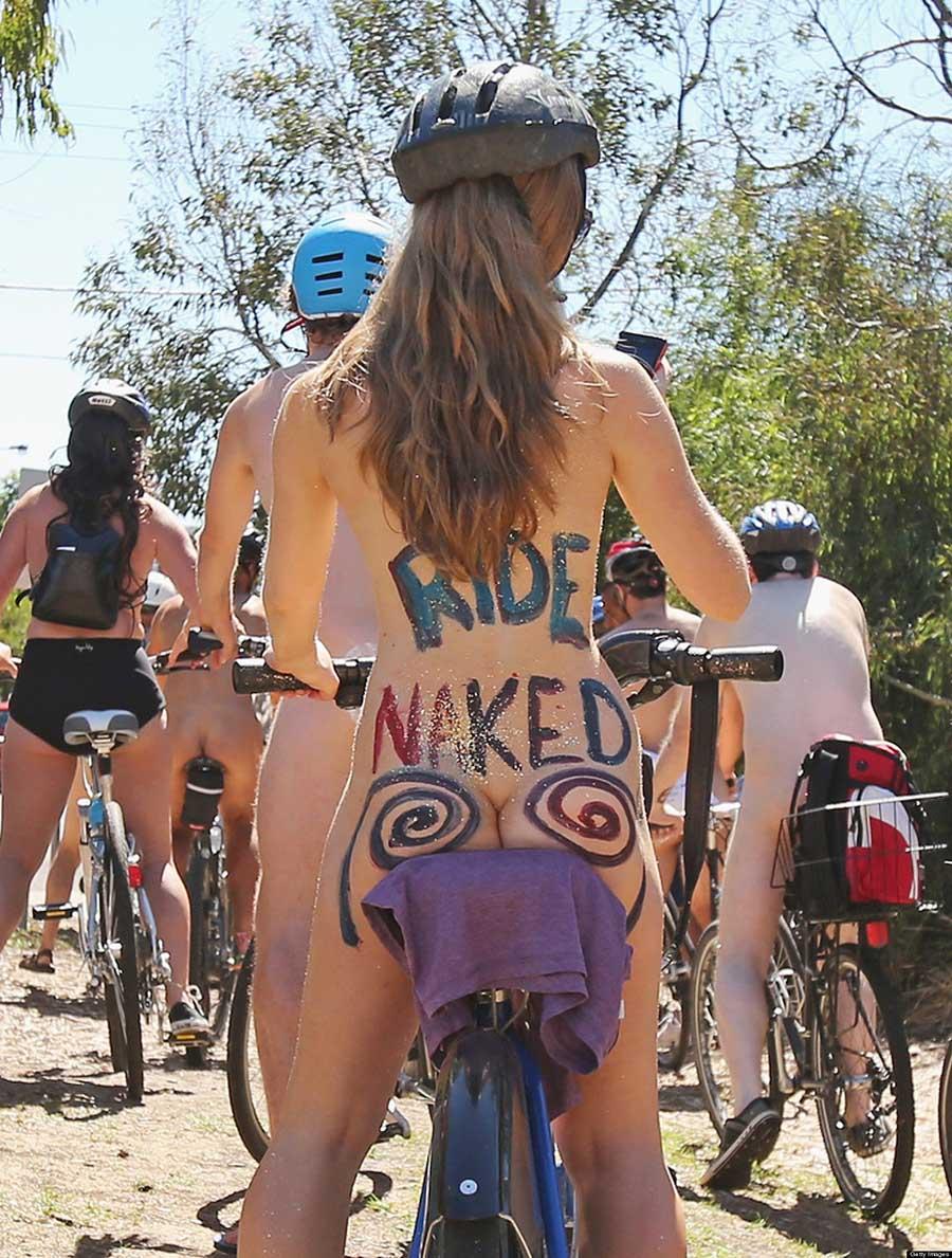 çıplak bisiklet turu