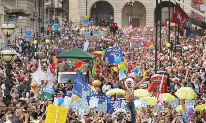 Londra, Onur Yürüyüşü - Peter Macdiarmid