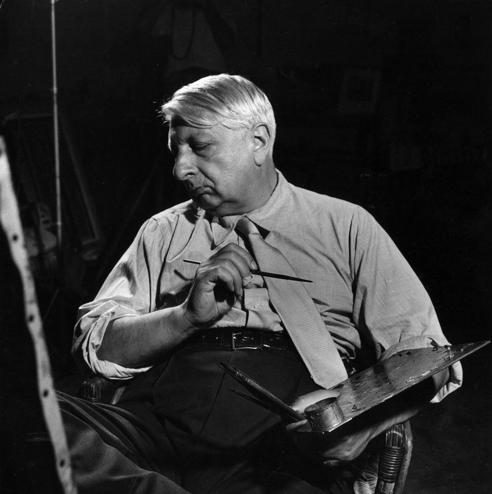 Giorgio de Chirico, 1949  Dali'den Picasso'ya: Efsanelerin büyülü çalışma alanları Giorgio de Chirico