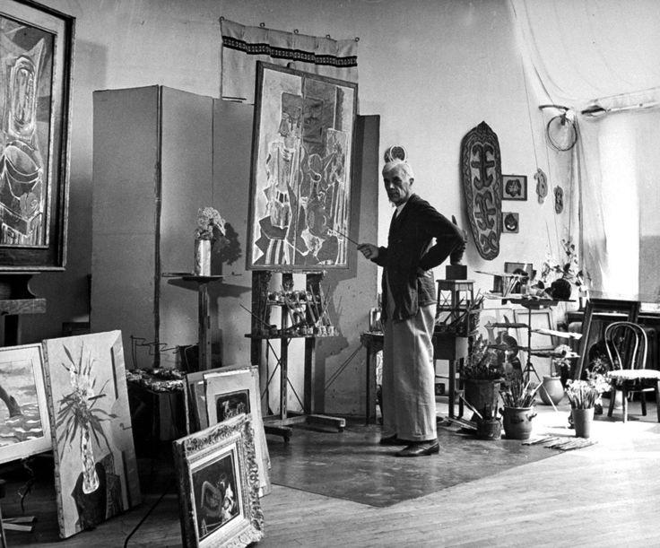 a502c8ad0b6799fc30343f65419c9a57  Dali'den Picasso'ya: Efsanelerin büyülü çalışma alanları a502c8ad0b6799fc30343f65419c9a57