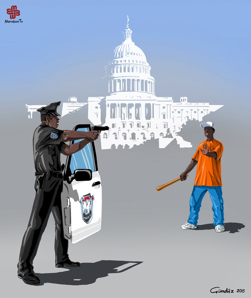 ABD'de Polis