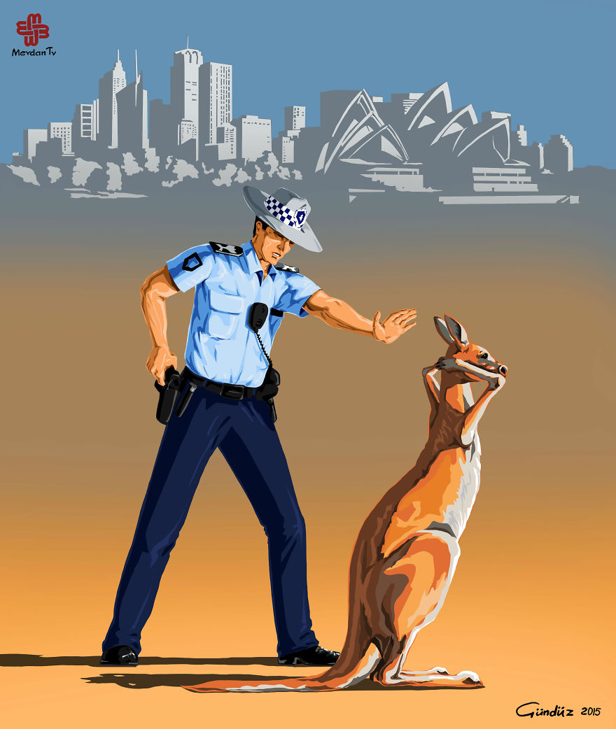 Avustralya'da Polis