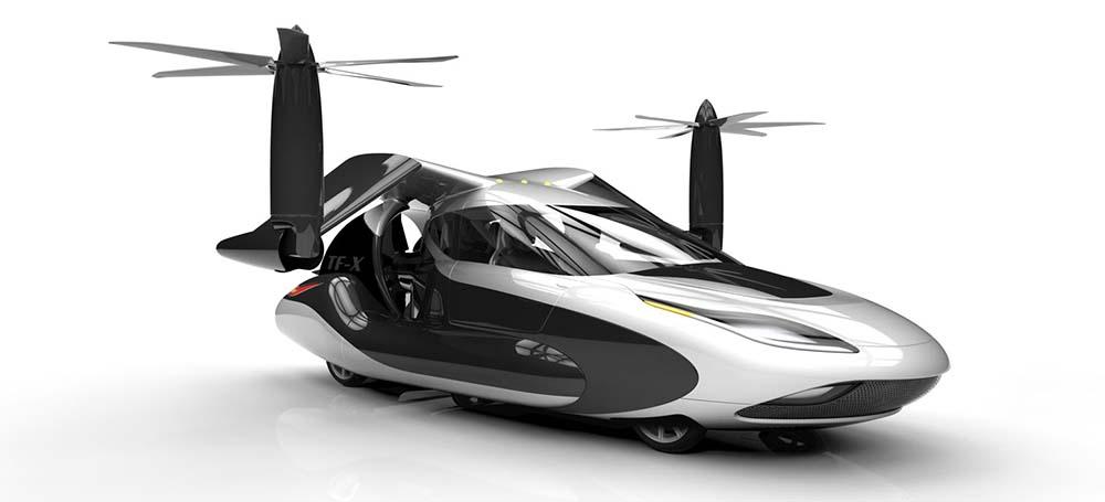 Geleceğin uçan arabaları (3) TF-X