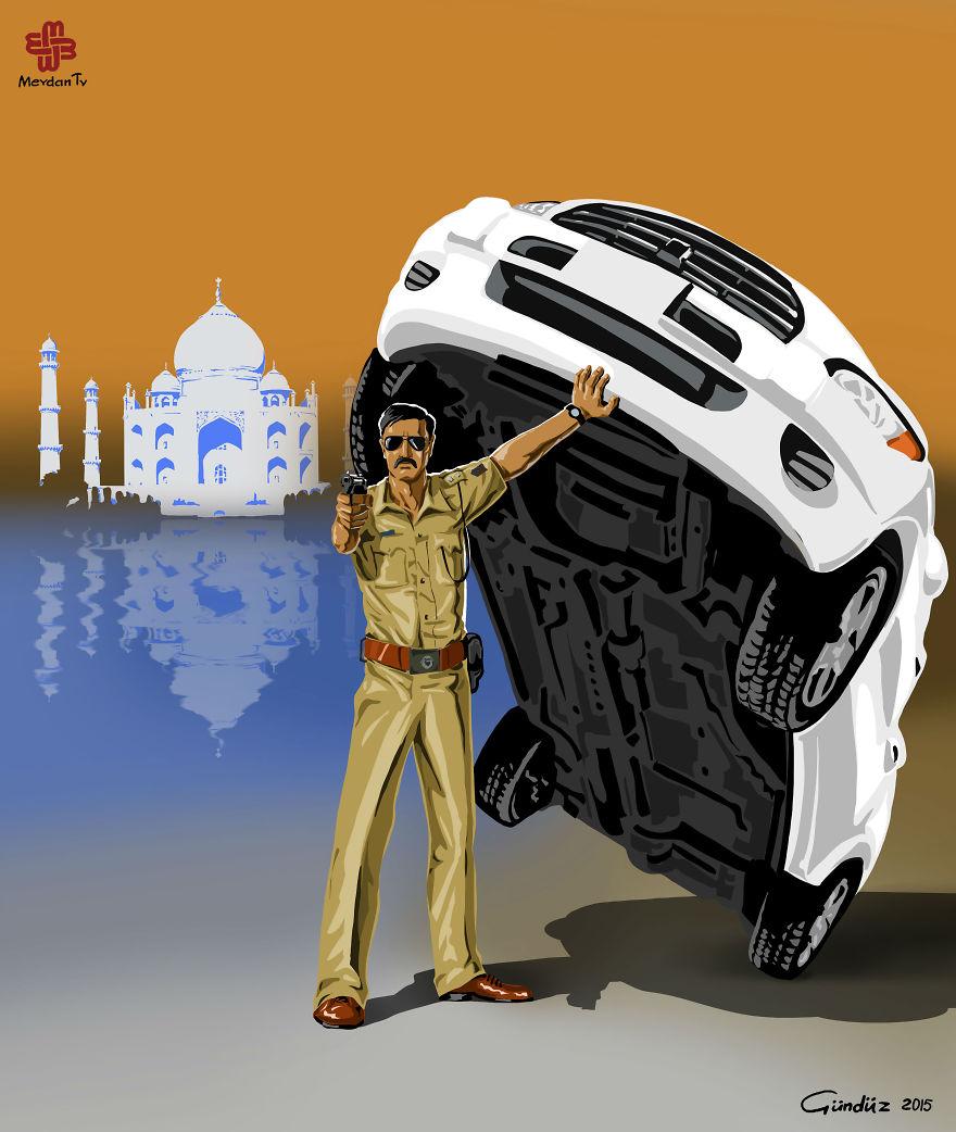 Hindistan'da Polis