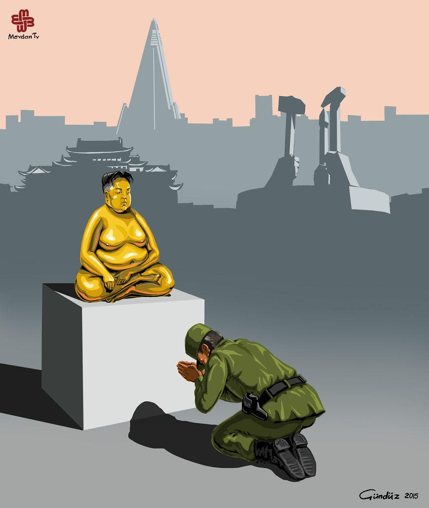 Kuzey Kore'de Polis