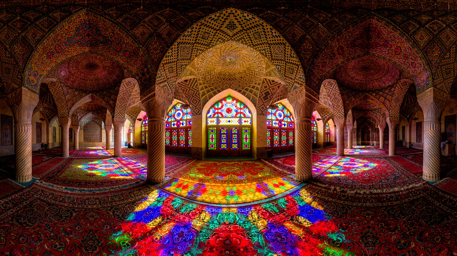 Nasir Al-Mulk Mosque Panorama by Mohammad Reza Domiri Ganji on 500px
