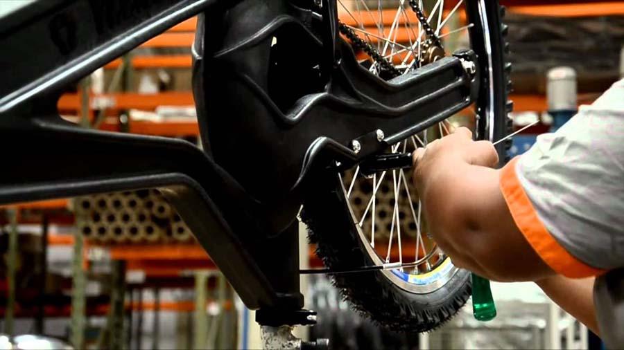 Plastik şişelerden üretilen bisikletler 1