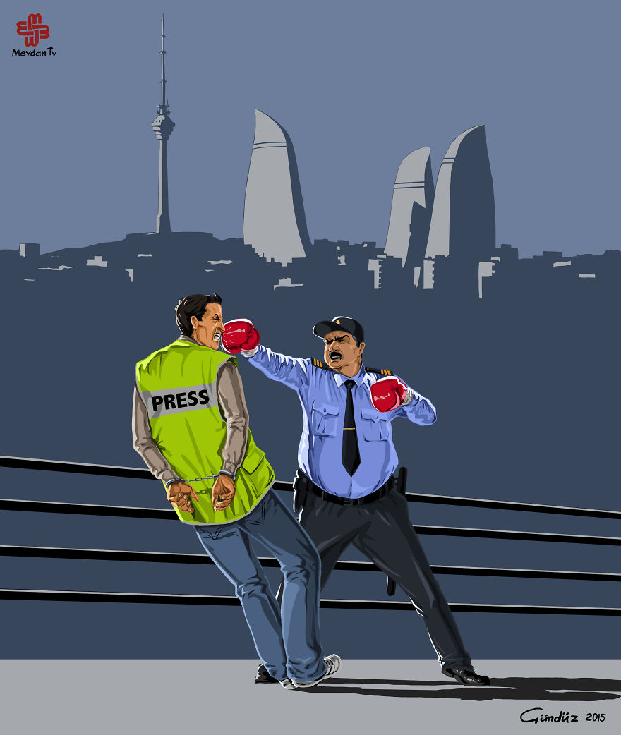 Police in Azerbaijan