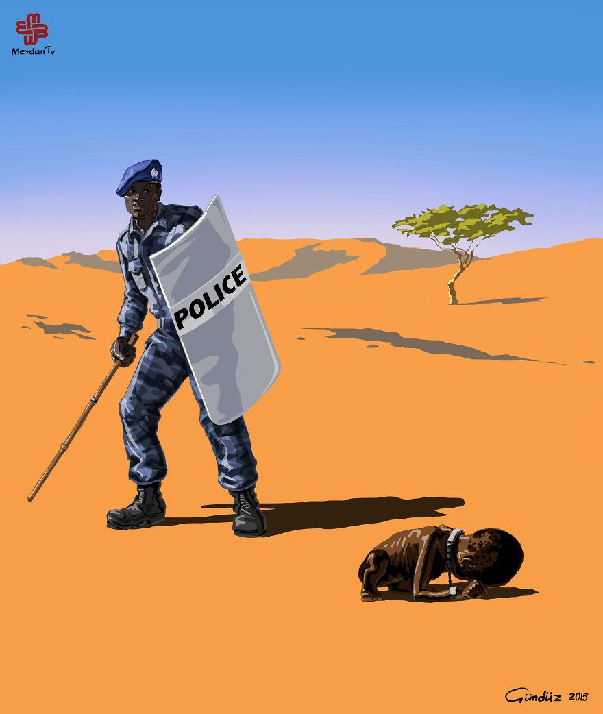 Sudan'da Polis