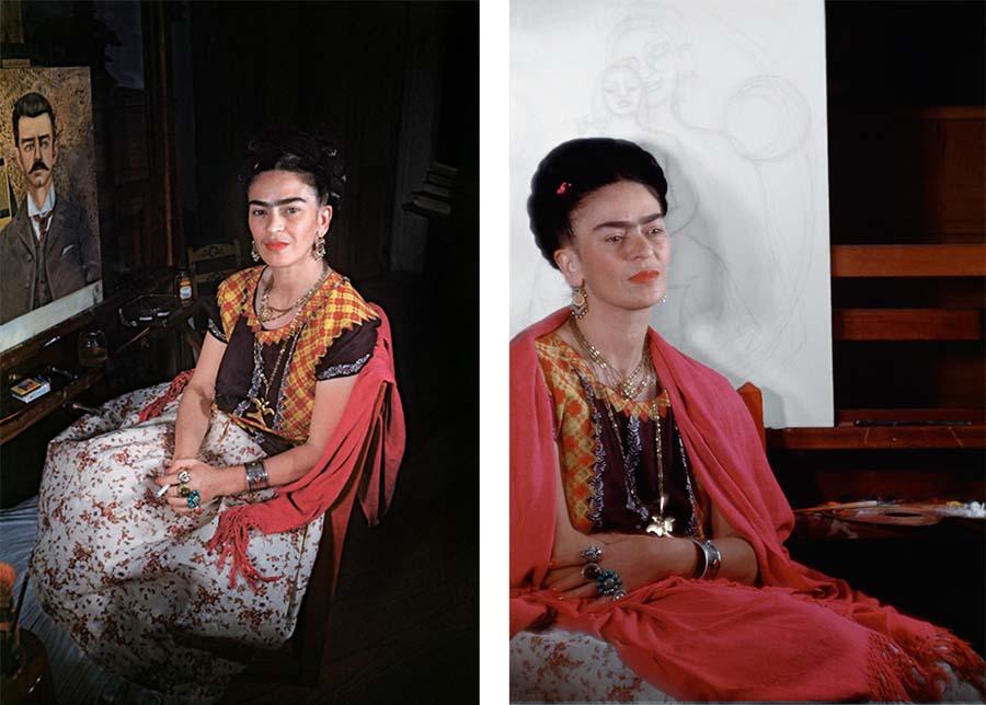 The Gisèle Freund Photographs, Frida Kahlo 3