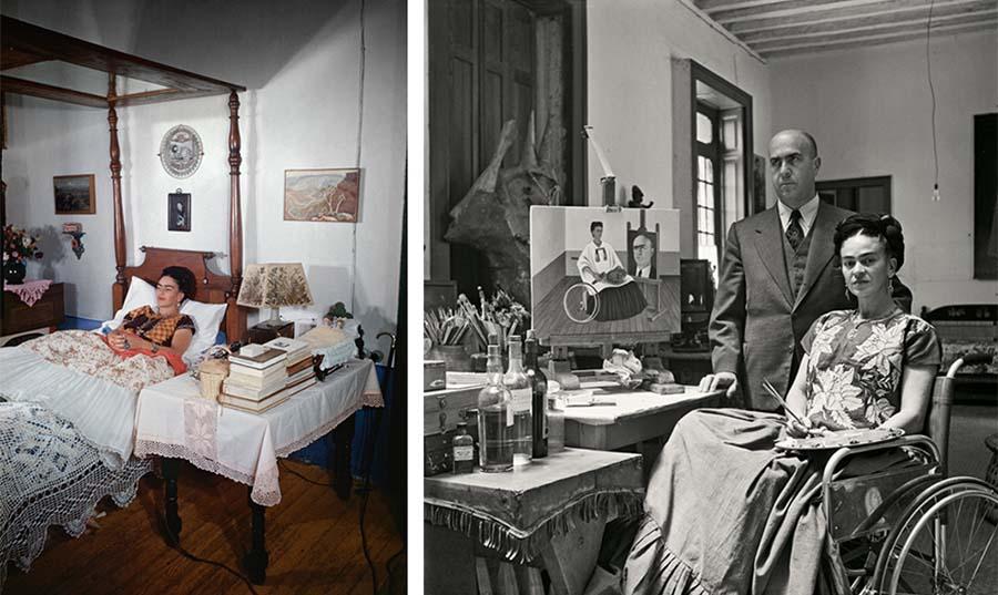 The Gisèle Freund Photographs, Frida Kahlo 5